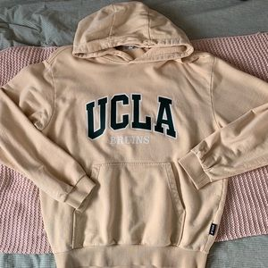 Vintage UCLA Yellow & Green Hoodie